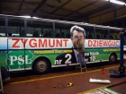 Oklejenie autobusu